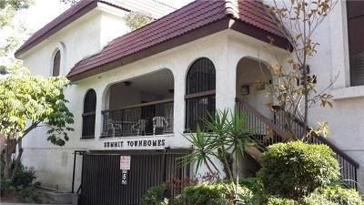 Glendale Condo/Townhouse For Sale: 1502 Rock Glen Avenue #L
