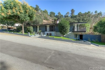 Pasadena Single Family Home For Sale: 2240 Kinneloa Canyon Road