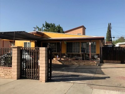Sun Valley Single Family Home For Sale: 11045 Leadwell Street