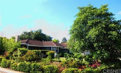 Rancho Palos Verdes Single Family Home For Sale: 27004 Grayslake Road