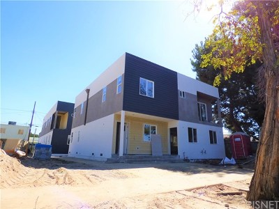 North Hollywood Multi Family Home Active Under Contract: 5626 Willowcrest Avenue