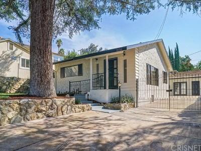La Crescenta Single Family Home For Sale: 5136 Ramsdell Avenue