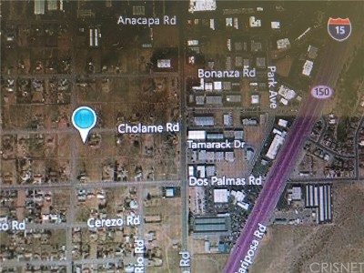 Victorville Residential Lots & Land For Sale: Boreg Road