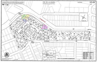 Lake Elsinore Residential Lots & Land For Sale: Riverside Dr. And Lakeview Avenue
