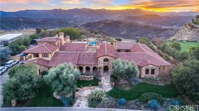 Brentwood, Calabasas, West Hills, Woodland Hills Single Family Home For Sale: 25364 Prado De La Felicidad