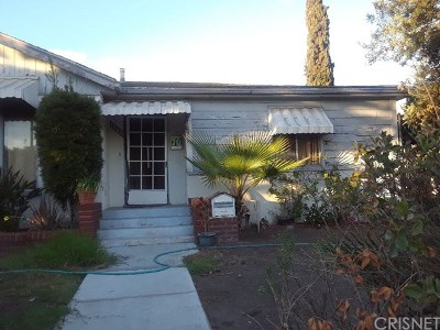 Sun Valley Single Family Home For Sale: 11145 Roscoe Boulevard