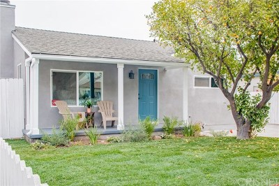 Burbank Single Family Home Active Under Contract: 930 N Brighton Street