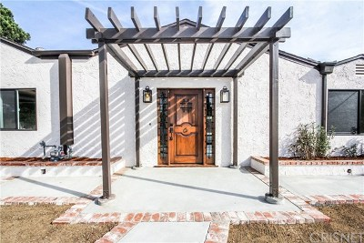 North Hollywood Single Family Home For Sale: 8130 Coldwater Canyon Avenue