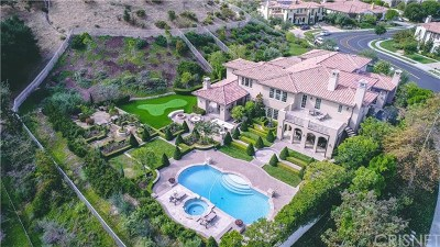 Brentwood, Calabasas, West Hills, Woodland Hills Single Family Home For Sale: 25400 Prado De Las Fresas