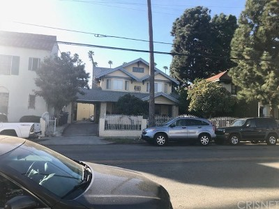 Hollywood Multi Family Home For Sale: 1807 N Wilton Place
