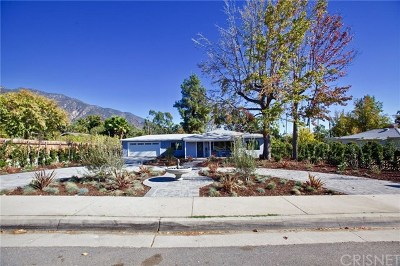 Pasadena Single Family Home For Sale: 1572 N Altadena Drive