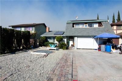 Sun Valley Single Family Home For Sale: 8989 Cayuga Avenue