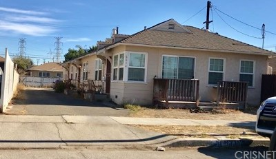 North Hollywood Multi Family Home For Sale: 6614 Camellia Avenue