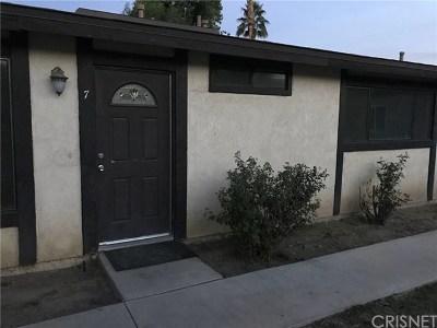 Condo/Townhouse For Sale: 73655 Santa Rosa Way Way #7