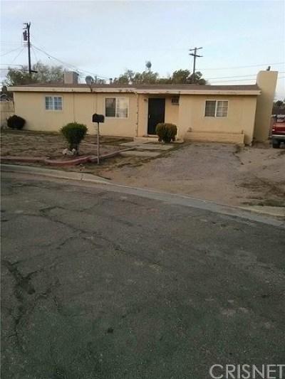 Mojave Single Family Home For Sale: 1779 Richard Avenue
