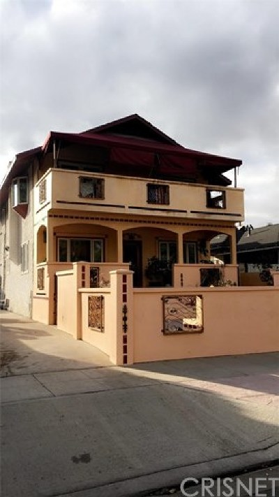 Burbank Multi Family Home Active Under Contract: 301 N California Street