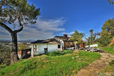 Studio City Single Family Home For Sale: 3779 Berry Drive