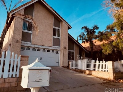 Sylmar Single Family Home For Sale: 15327 El Casco Street