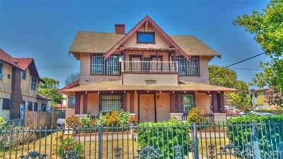 Los Angeles Single Family Home For Sale: 2703 Dalton Avenue