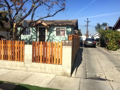 Los Angeles Multi Family Home For Sale: 413 E 65th Street