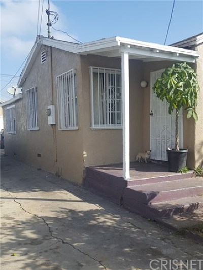 Compton Single Family Home For Sale: 913 W Magnolia Street
