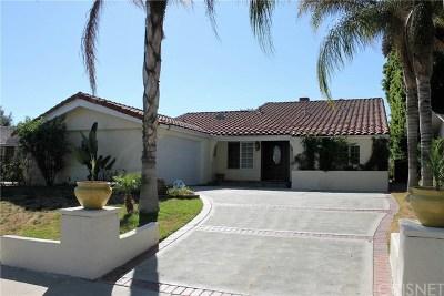 Lake Balboa Single Family Home For Sale: 6613 Whitaker Avenue