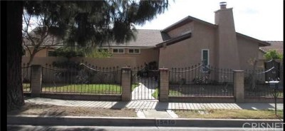 Sylmar Single Family Home For Sale: 15410 Bledsoe Street