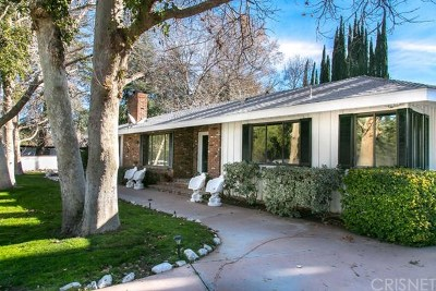 Canyon Country Single Family Home For Sale: 26690 Sand Canyon Road