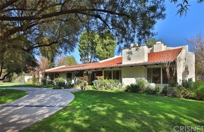 Hidden Hills Single Family Home For Sale: 5464 Jed Smith Road