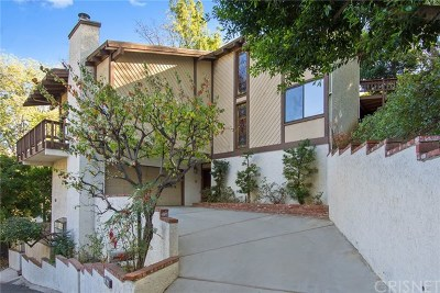 Studio City Single Family Home For Sale: 3868 Berry Court