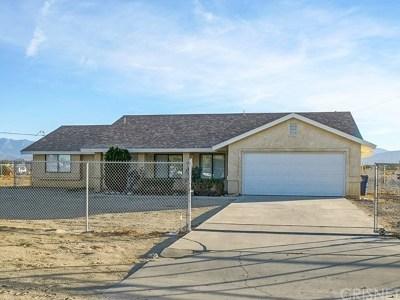 Littlerock Single Family Home For Sale: 9640 E Avenue R