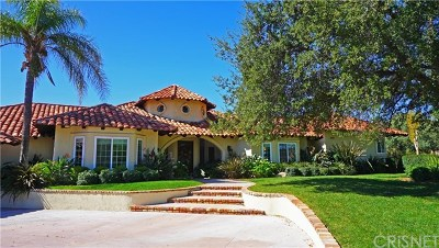 Newhall Single Family Home For Sale: 21550 Cleardale Street