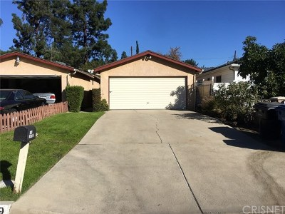 Mission Hills Single Family Home For Sale: 15549 Lemarsh Street