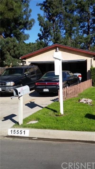 Mission Hills Single Family Home For Sale: 15551 Lemarsh Street