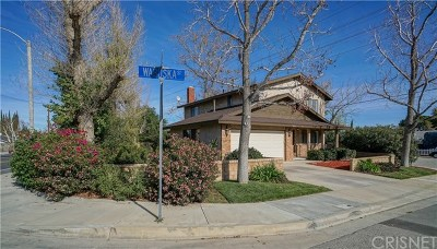 Newhall Single Family Home Active Under Contract: 24131 Wabuska Street