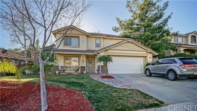 Castaic Single Family Home For Sale: 32731 Ridge Top Lane