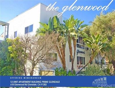 Glendale Multi Family Home For Sale: 618 Glenwood Road