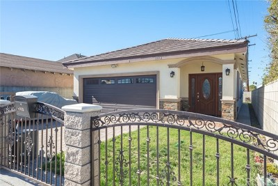 Hawthorne Single Family Home For Sale: 13113 Lemoli Avenue