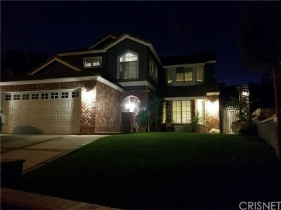 Castaic Single Family Home Active Under Contract: 31221 Quail Valley Road