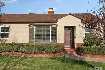 Burbank Single Family Home For Sale: 238 N Parish Place