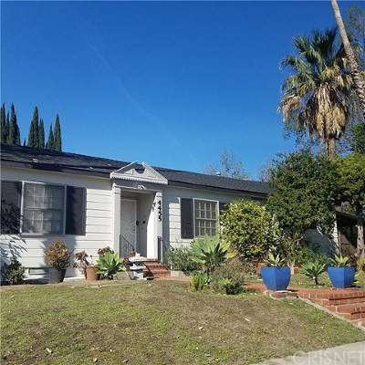 North Hollywood Multi Family Home For Sale: 4455 Bakman Avenue