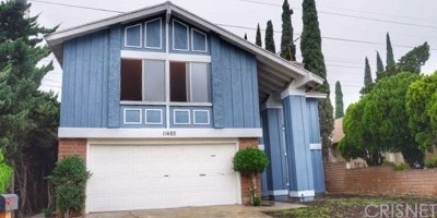 Mission Hills Single Family Home For Sale: 11483 Lev Avenue
