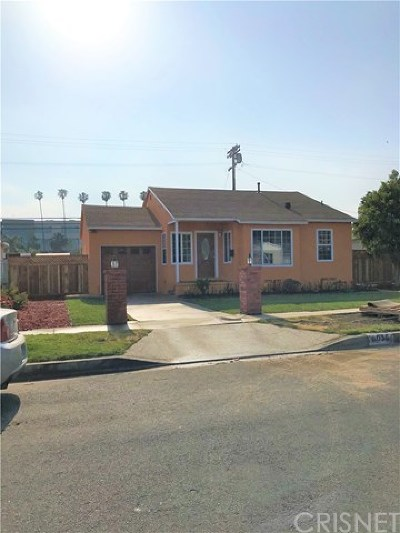 Panorama City Single Family Home For Sale: 8035 Tilden Avenue