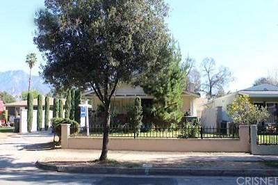 Pasadena Single Family Home For Sale: 1706 N Marengo Avenue