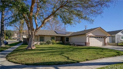 Newhall Single Family Home For Sale: 24642 Fourl Road