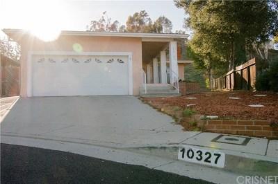 Sunland Single Family Home Active Under Contract: 10327 Farmington Avenue