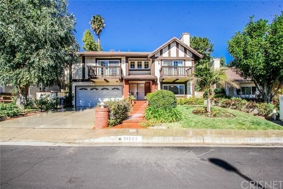 West Hills Single Family Home For Sale: 24527 Indian Hill Lane