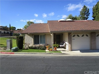 Newhall Condo/Townhouse Active Under Contract: 26721 Oak Garden Court