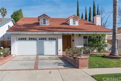 Winnetka Single Family Home Active Under Contract: 8122 Laramie Avenue