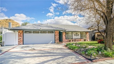 Canyon Country Single Family Home For Sale: 29814 Abelia Road